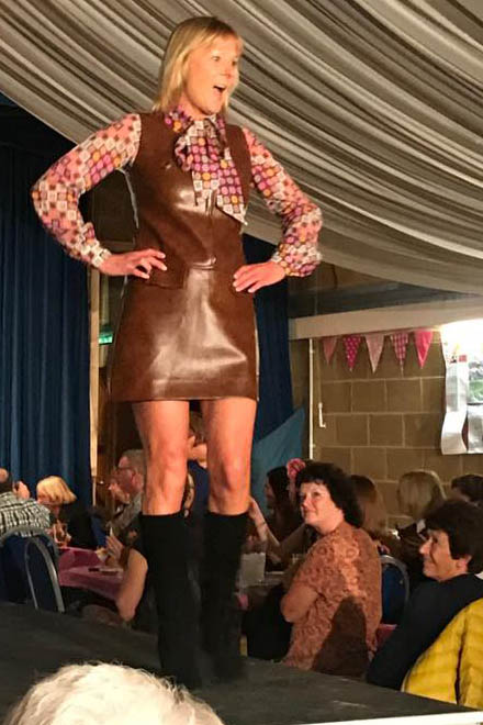 Winterslow Village Hall Vintage Fashion Show